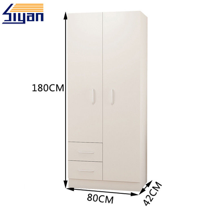 Professional Wood Panel Closet Doors PVC Film Pressed With 15-25mm Thickness