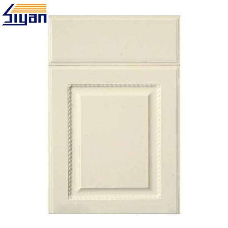 Custom Size White Wood MDF Kitchen Cabinet Doors Styles Diy Design