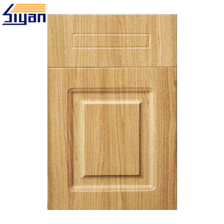 PVC Film Pressed MDF Cabinet For Vinyl Wrapped Kitchen Doors Reviews